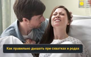 Техники дыхания при родах