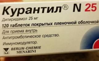 Курантил при беременности дозировка