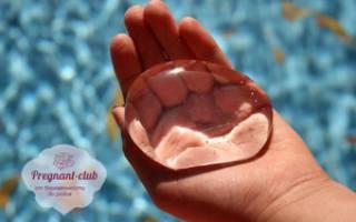 Как подтекают воды у беременных признаки