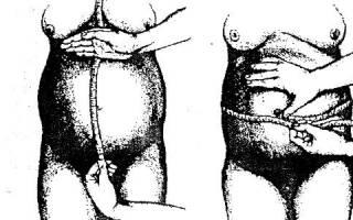 Размер матки норма таблица при беременности