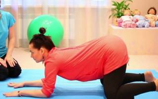 Коленно локтевое положение при беременности для чего